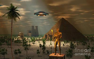 Ancient Civilization Digital Art - Ancient Civilization by Mark Stevenson