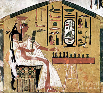 Ancient Egypt: Chess Art Print by Granger