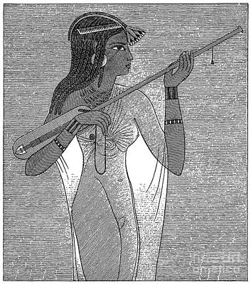 Ancient Egypt: Music Art Print by Granger