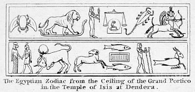 Ancient Egypt: Zodiac Art Print