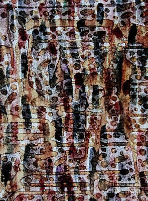 Ancient Etch Art Print by TB Schenck