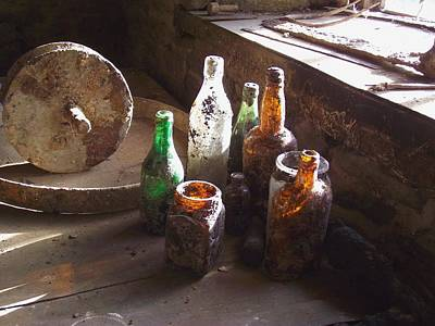 Photograph - Ancient Glass by Ed Lukas
