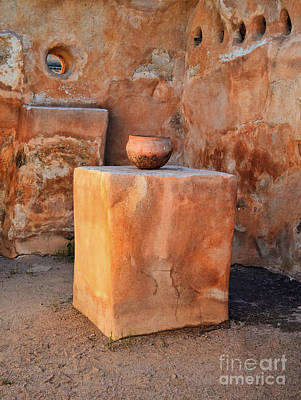 Photograph - Ancient Granary Pot by Donna Greene