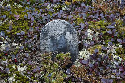 Beers On Tap - Ancient gravestone. by John Greim