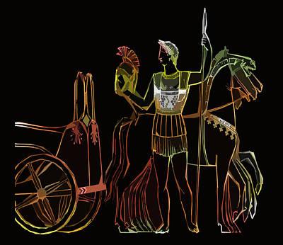 Ancient Greek Olympics Art Print by James Hill