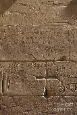 Ancient Hieroglyphics Art Print