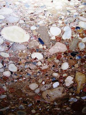 Photograph - Ancient Marble Granite Stone Design Granada Spain by John Shiron