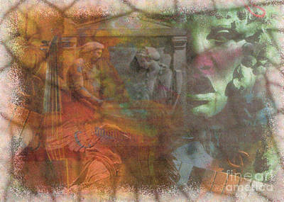 Ancient Rome Mixed Media - Ancient Memories by Nadene Merkitch