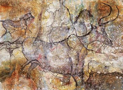 Ancient Messages No. 115 Art Print