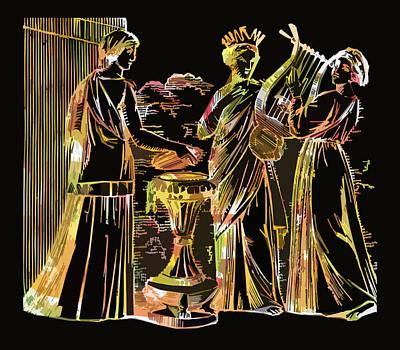 Ancient Roman Fashions Art Print by James Hill