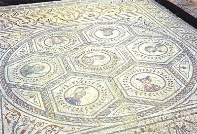 Photograph - Ancient Spanish Mosaic by Barbara Plattenburg