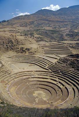 Terracing Photograph - Ancient Terracing by Diccon Alexander