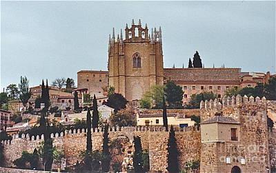 Photograph - Ancient Toledo Spain by Barbara Plattenburg