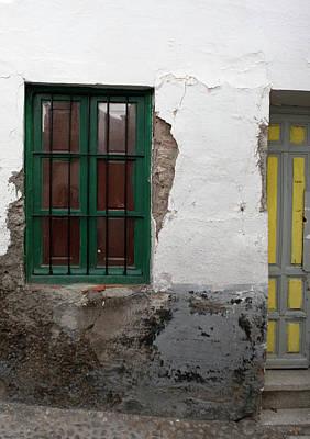 Photograph - And A Green Window by Lorraine Devon Wilke