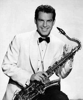 Saxophone Photograph - And The Angels Sing, Fred Macmurray by Everett