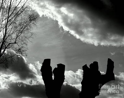 Photograph - And The Sky Won't Pay No Mind by Michael Canning