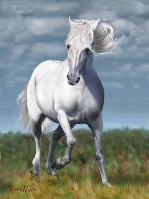 Painting - Andalusian Freedom by Suni Roveto