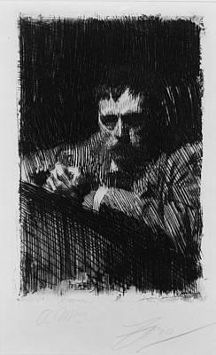 Anders Zorn 1860-1920, Swedish Art Print by Everett