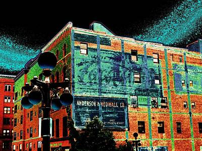 Lowertown Photograph - Anderson Hedwall Co. by Rashelle Brown