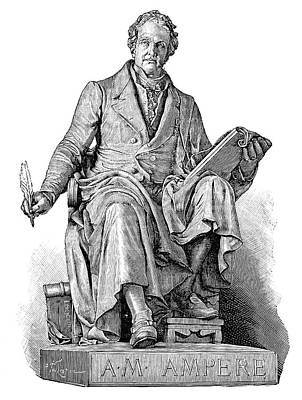 Andre-marie Ampere, French Physicist Print by
