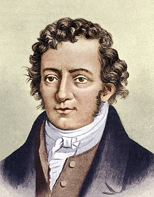 Andre-marie Ampere, French Physicist Art Print by Sheila Terry