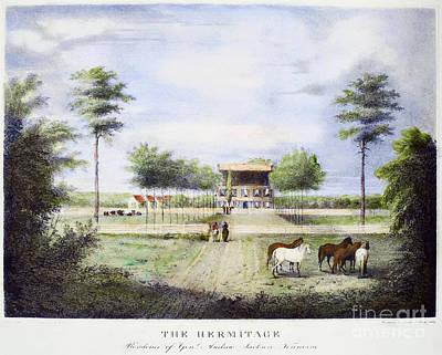 Andrew Jackson: Hermitage Art Print