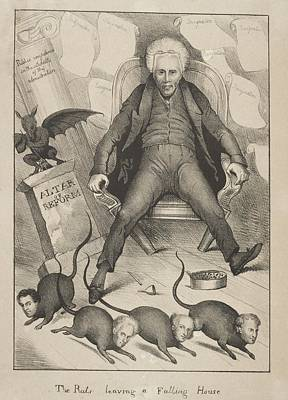 Morality Photograph - Andrew Jackson Losses His Cabinet. In by Everett