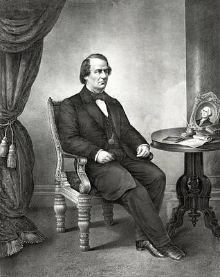 Andrew Johnson - President Of The United States Art Print by International  Images