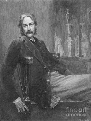 Andrew Lang (1844-1912) Art Print by Granger