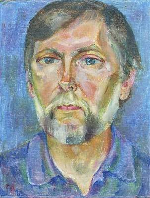 Portrait Painting - Andrey by Leonid Petrushin