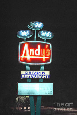 Andy's Drive-in Print by Jost Houk