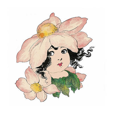 Anemone Or Windflower Art Print