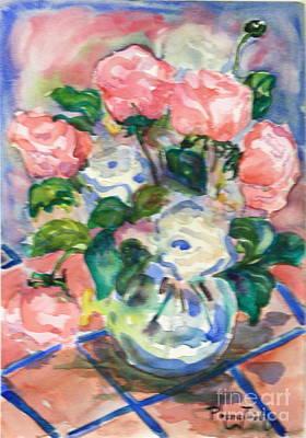 Phong Trinh Painting - Anemone by Phong Trinh