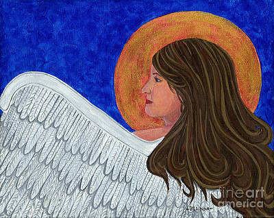 Painting - Angel 1 by Billinda Brandli DeVillez
