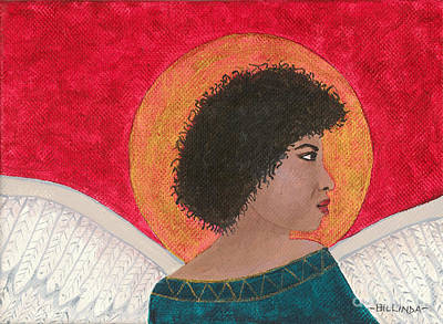 Painting - Angel 4 by Billinda Brandli DeVillez
