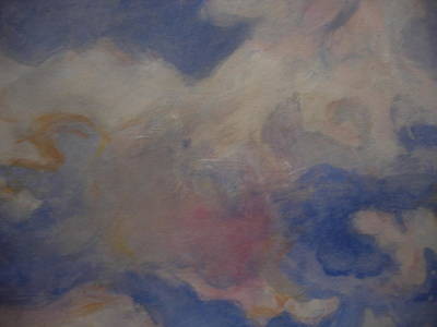 Painting - angel clouds II by Diane montana Jansson
