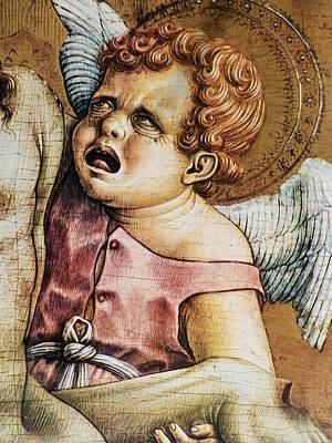 Photograph - Angel From Pieta Crivelli Canady Metropolitan Seminars In Art by Jake Hartz