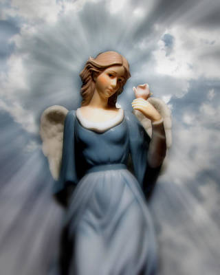 Photograph - Angel In The Sky by Ms Judi