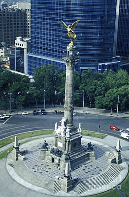 Photograph - Angel Independence Monument Mexcio City by John  Mitchell
