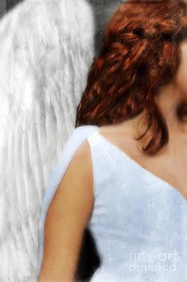 Angel  Art Print by Jill Battaglia
