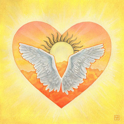 Angel Art Print by Lisa Kretchman