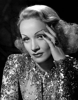 Angel, Marlene Dietrich, 1937 Art Print by Everett