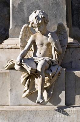 Angel Of Baroque Art Print