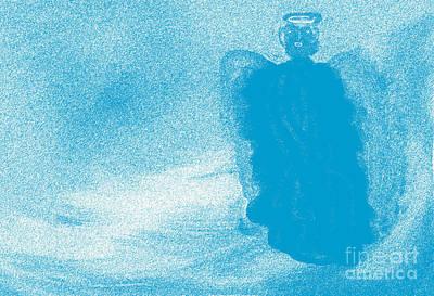Faith Digital Art - Angel Of Peace by Terri Johnson