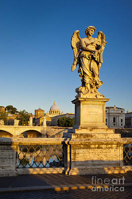 Photograph - Angel Of Rome by Brian Jannsen