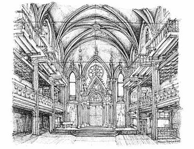Angel Orensanz Venue In Nyc Art Print By Building