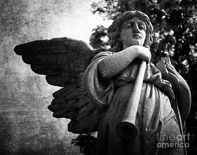 Photograph - Angel Trumpeter by Anne Raczkowski