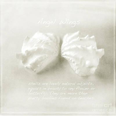 Angel Wings Art Print by Linde Townsend