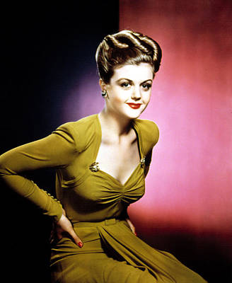 Lansbury Photograph - Angela Lansbury, 1940s by Everett