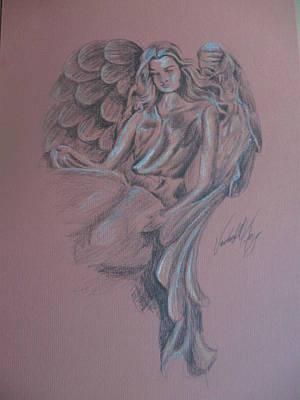 Angelica Art Print by Vanderbill King
